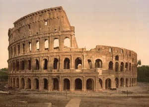 Exterior_of_the_Coliseum_Rome_Italy