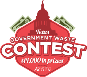 Gov Waste contest logo green